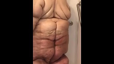 Ssbbw Shower Time