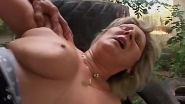 Mature Fucked in Ass and Pussy - Jennifer Toth