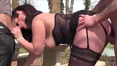 French bigass outdoor DP