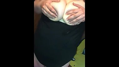 BBW Milf with oily big tits part 2