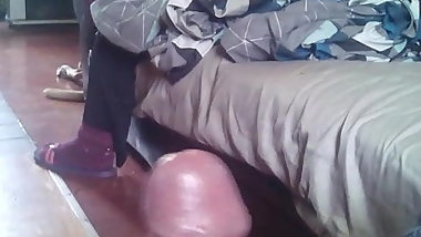 Dickflash precum for friend