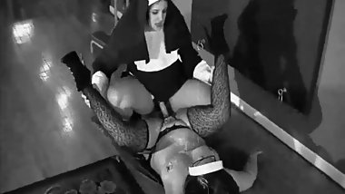 fucked by a nun with a strap-on retro