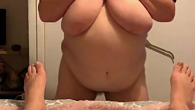 My BBW wife being naughty part 8