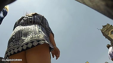 Upskirt Fats Ass