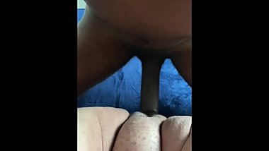 Pounding her fat pussy on my lunch break