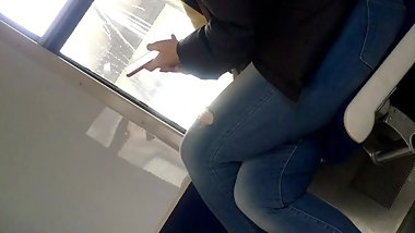 French BBW With Big Ass In Tight Jeans