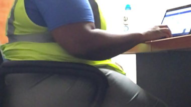 Phat Thick BBW worker thinks she got my full attention