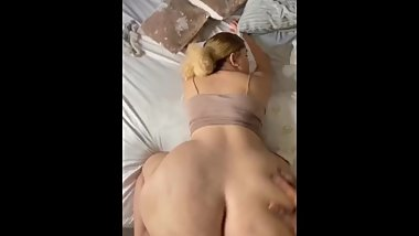 Be wet creamy pussy riding her neighbor