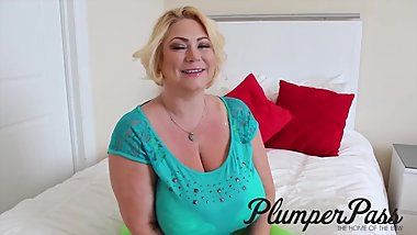 BBW Model Samantha 38G Exclusive Behind The Scenes Interview