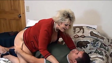 Fucking Mother In Law Candee In Pantyhose