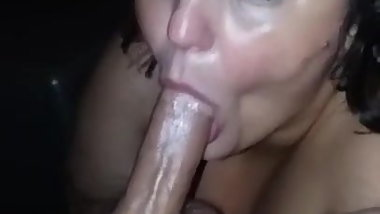Candy loves sucking cock
