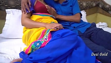 Real Hot Indian Bhabhi Sex With Young Lover