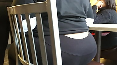 Ass at the table