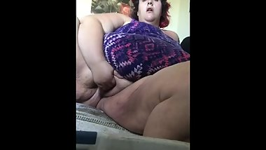 Chubby pussy finger blasted hear video