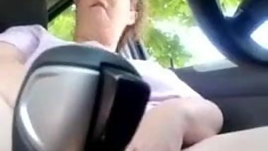 Exposed Slut Stephanie Dewolfe Masturbating in her car