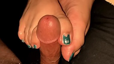 Ssbbw foot job