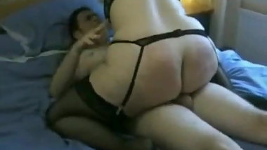 Fat BBW Teen with nice ass ride and jump, gets facial