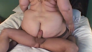 Curvy Sharon - Auntie Sharon Rubs Your Cock