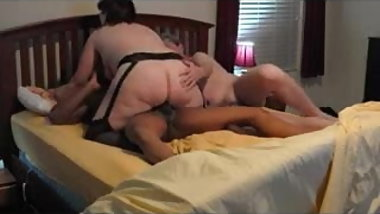 Husband watches slut wife fuck