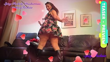 BBW Valentine Strip Tease and Dance - PREVIEW