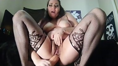 BBW MILF POV GIANT DICK RIDING