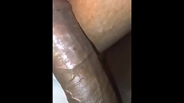 this whore loves my black cock