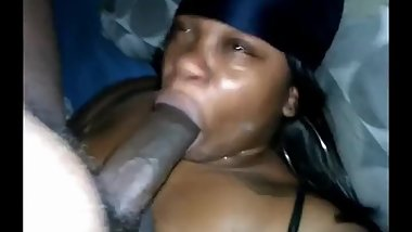 Facefucked and nutted on