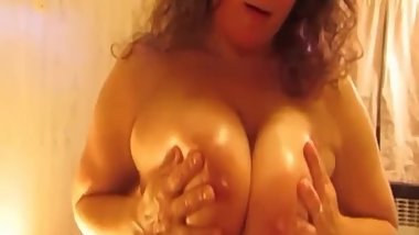 Titty Fucking Soft Amateur Tits Until Cumming All Over Them