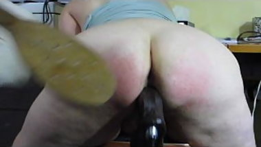 Naughty Wife Spanked & Machine Fucked