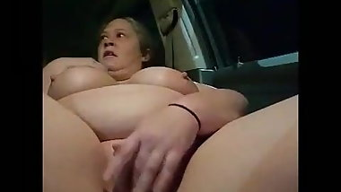 PAWG Stephanie Dewolfe Masturbating at Woodhaven Meijers