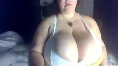 Perfect boobs bbw nerd cam