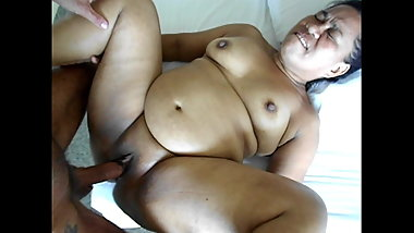 Fat mature asian Darlene, undress and have sex