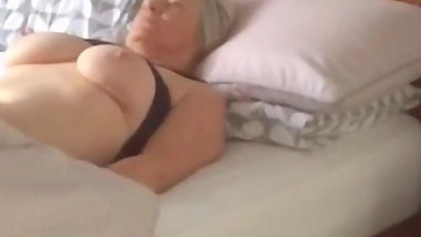 BBW nude on Hidden cam