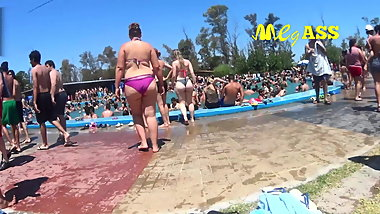 Mega Ass Waterpark!